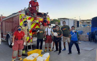 A los bomberos siempre se les ayuda!!!